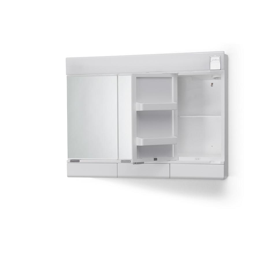 Spiegelschrank bad weiß  Spiegelschrank Badschrank 3 türig Weiß Wandschrank Spiegel Schrank ...