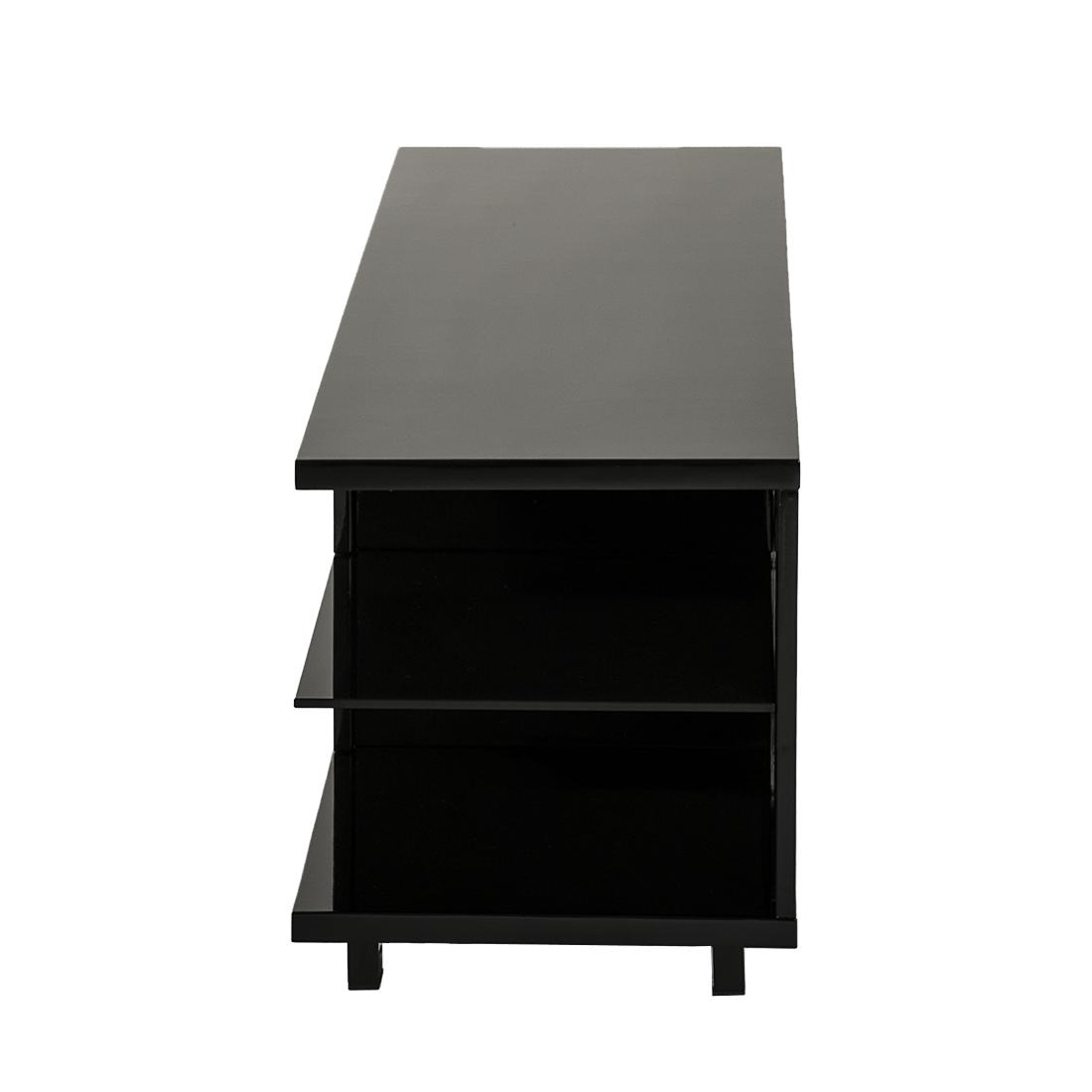 tv rack schwarz hochglanz glas tv mediam bel tisch rack fernsehtisch. Black Bedroom Furniture Sets. Home Design Ideas