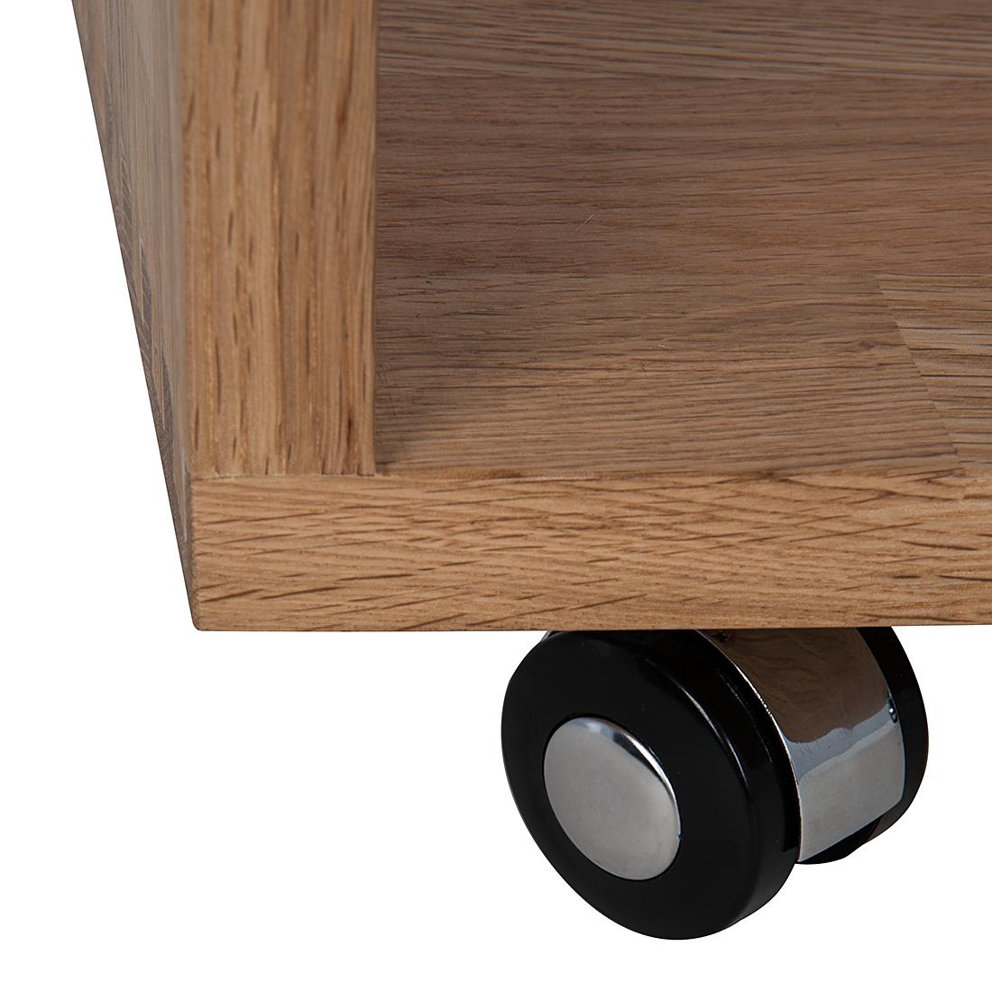 beistelltisch holz mit rollen beistelltisch mit rollen eiche holz. Black Bedroom Furniture Sets. Home Design Ideas