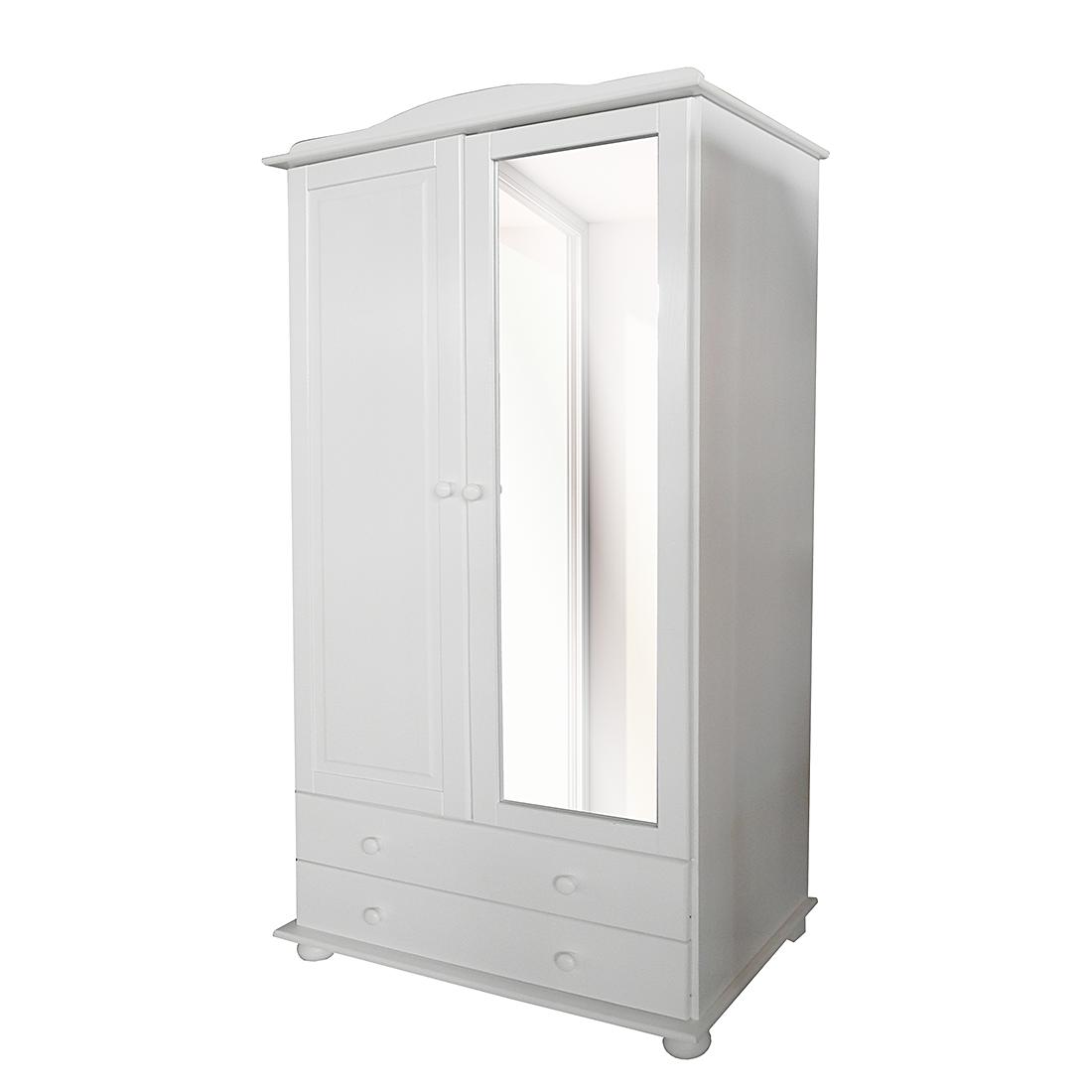 Kleiderschrank weiß mit spiegel  Kleiderschrank Weiß Spiegel Günstig | rheumri.com