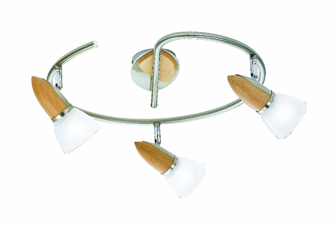 deckenleuchte spotleuchte deckenlampe 3 flammig spirale. Black Bedroom Furniture Sets. Home Design Ideas