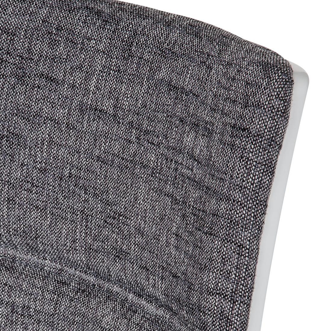 2er set esszimmerstuhl freischwinger stoff hellgrau st hle. Black Bedroom Furniture Sets. Home Design Ideas