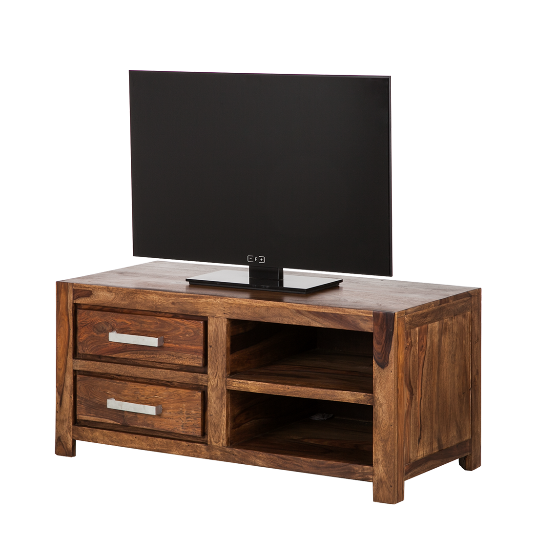 lowboard tv rack sheesham massivholz fernsehtisch hifi tv board schrank neu ebay. Black Bedroom Furniture Sets. Home Design Ideas