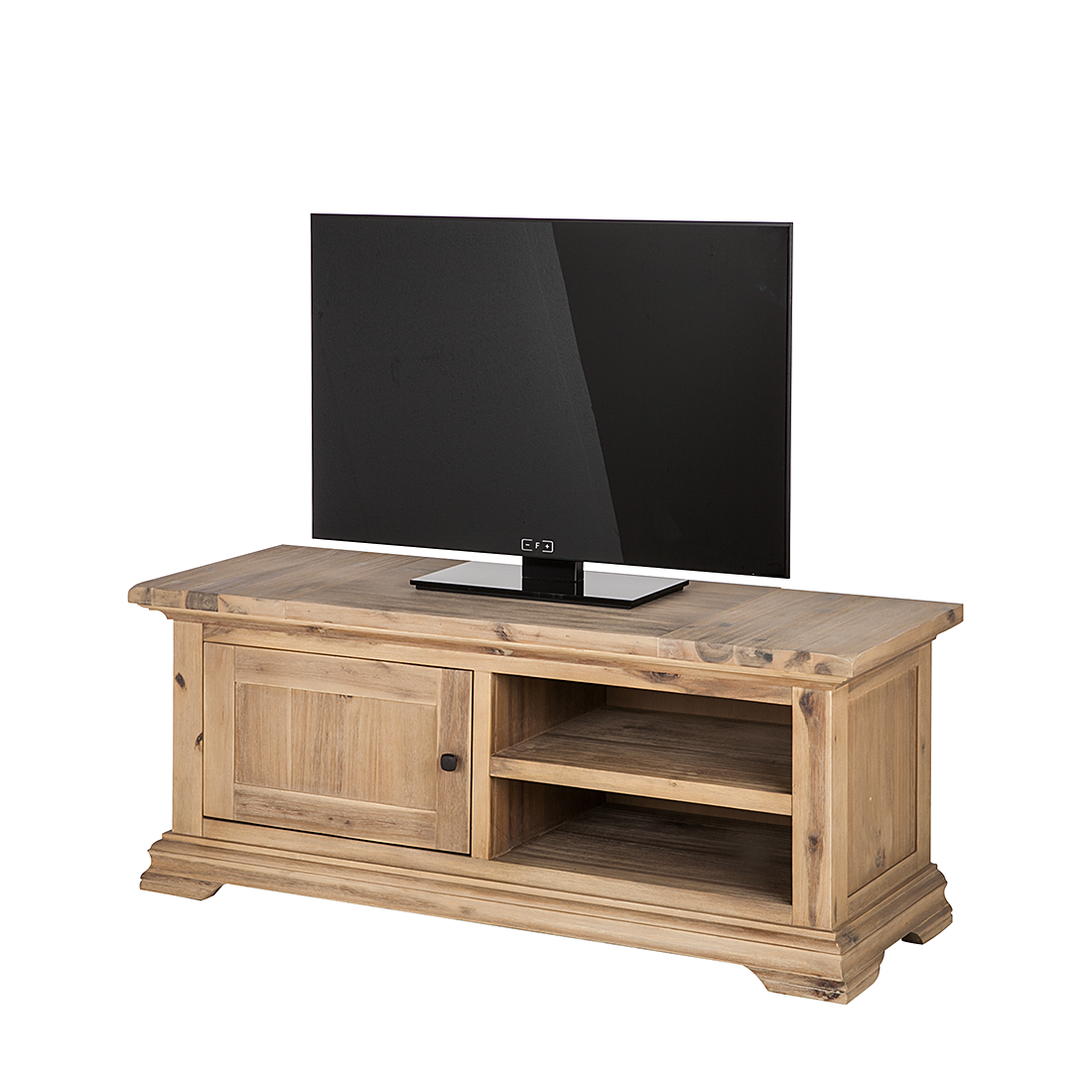 lowboard akazie massivholz 150cm fernsehtisch tv hifi rack sideboard schrank neu ebay. Black Bedroom Furniture Sets. Home Design Ideas