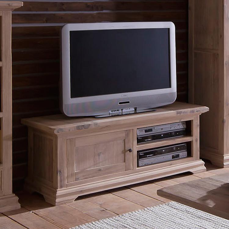 lowboard akazie massivholz 150cm fernsehtisch tv hifi rack sideboard schrank neu ebay. Black Bedroom Furniture Sets. Home Design Ideas