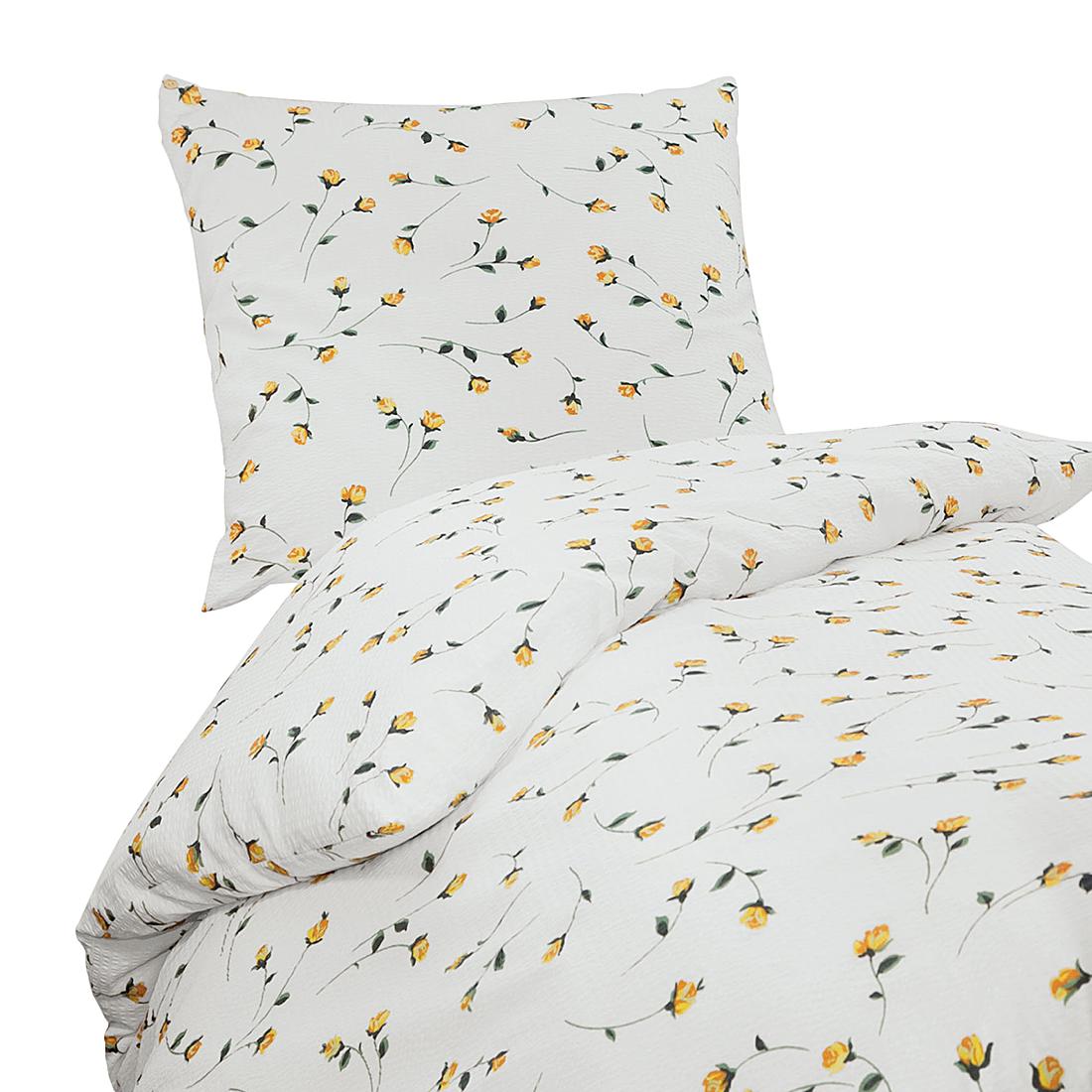 gelbe bettwsche cool kaeppel seersucker bettwsche uni x trkis terra gelb wei grn anthrazit. Black Bedroom Furniture Sets. Home Design Ideas