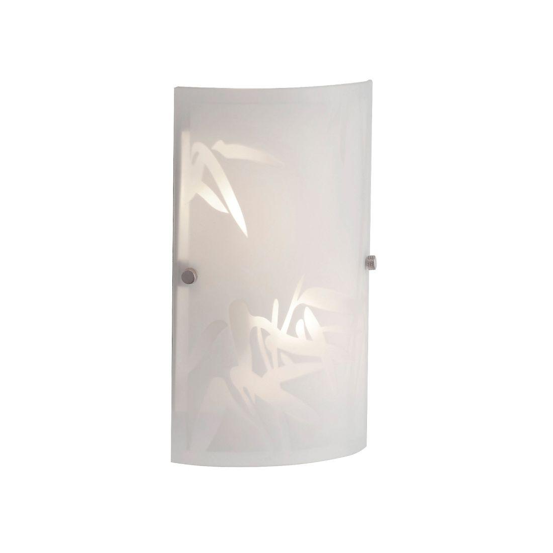 wandleuchte wandlampe lampe flur diele wohnzimmer wei floral glas metall neu ebay. Black Bedroom Furniture Sets. Home Design Ideas