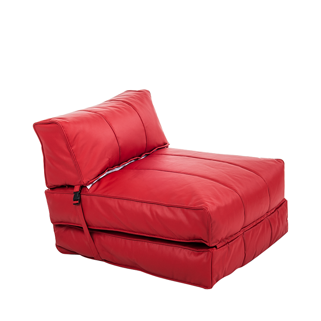 schlafsessel lederoptik rot g stebett klappsessel schlafsofa matratze sessel neu ebay. Black Bedroom Furniture Sets. Home Design Ideas