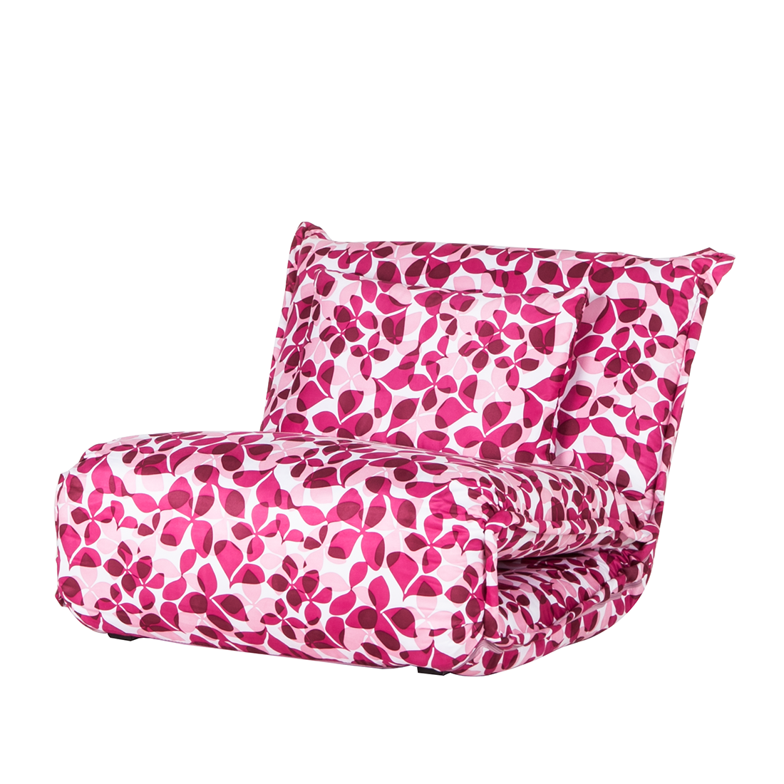 schlafsessel pink blumen schlafsofa schlafcouch g stebett sessel matratze neu ebay. Black Bedroom Furniture Sets. Home Design Ideas
