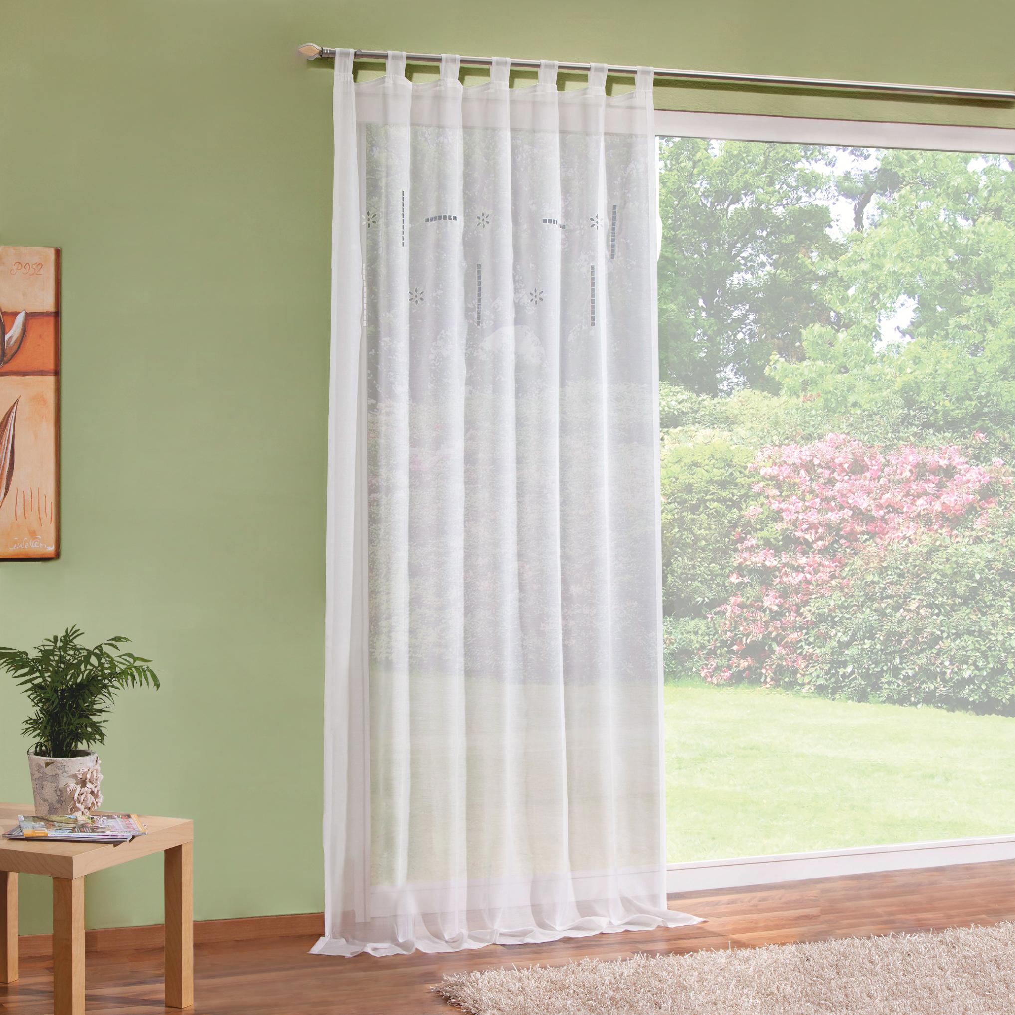 halbtransparente gardinen hcvc. Black Bedroom Furniture Sets. Home Design Ideas
