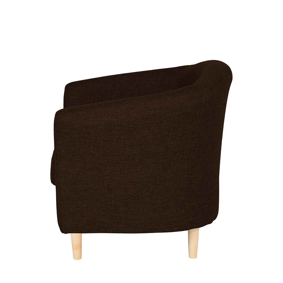 clubsessel webstoff braun f e holz buche cocktailsessel. Black Bedroom Furniture Sets. Home Design Ideas