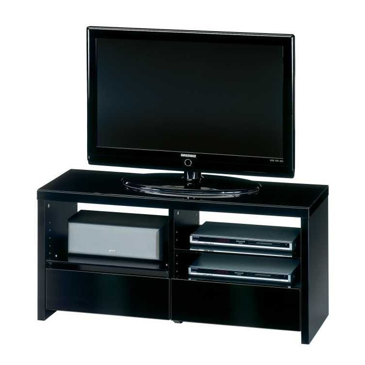 tv rack holz glas schwarzglas fernsehtisch lowboard tv. Black Bedroom Furniture Sets. Home Design Ideas
