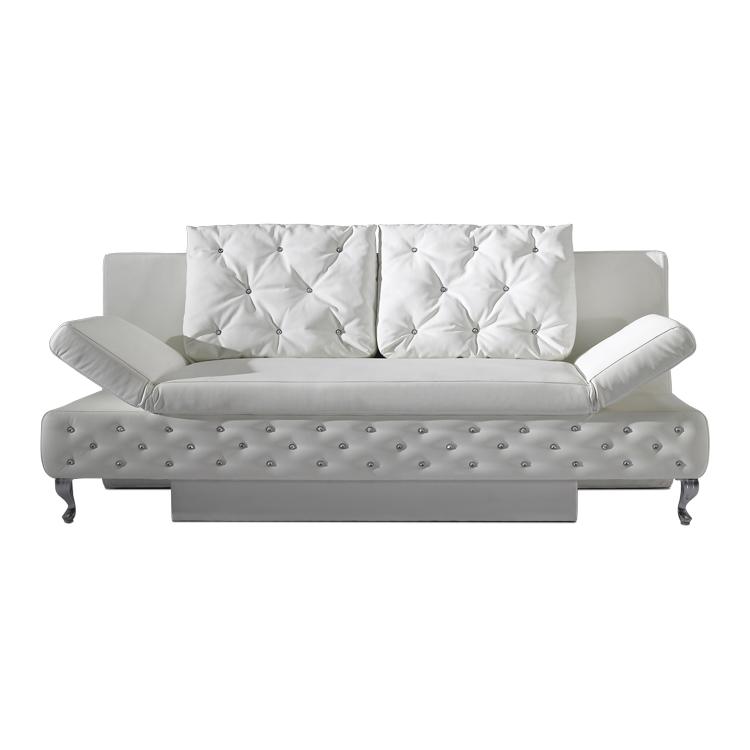 Schlafcouch weiß  Schlafsofa Weiß Schlafcouch Bettsofa Sofa Couch Gästebett ...