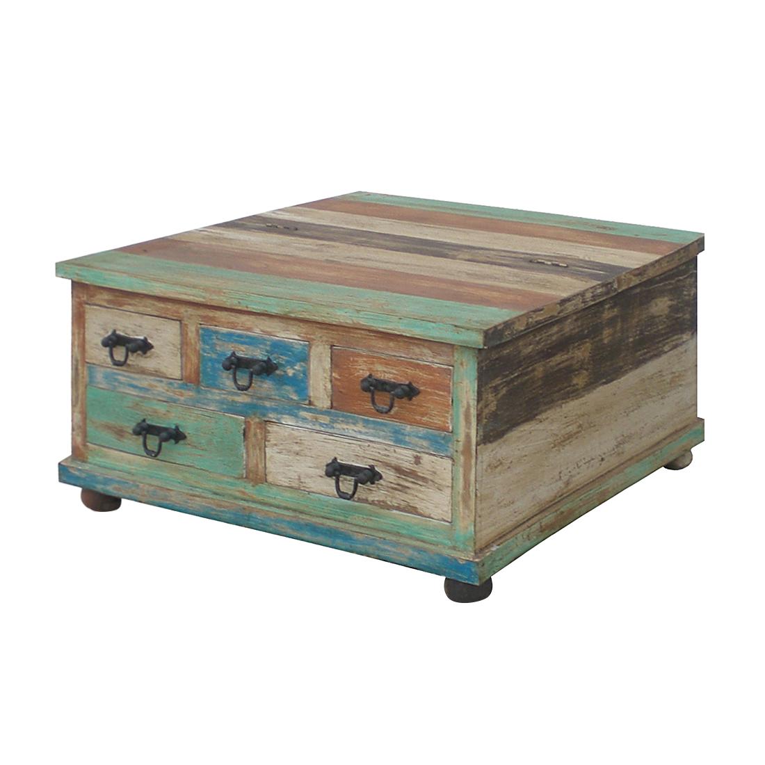 Massivholz Tisch Couchtisch Sofatisch Wohnzimmertisch Holz