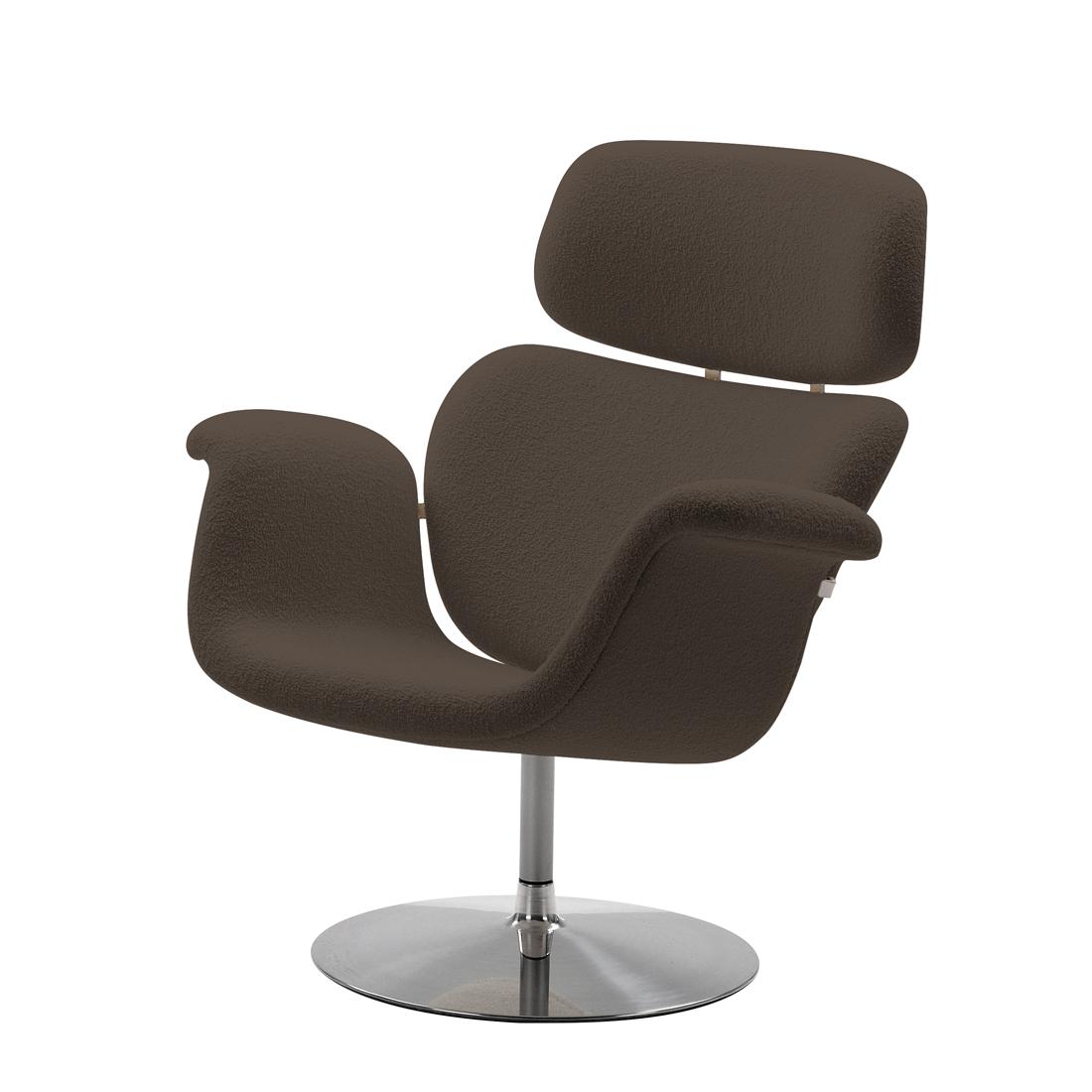 Artifort designer sessel schurwolle grau stuhl for Designer stuhl grau