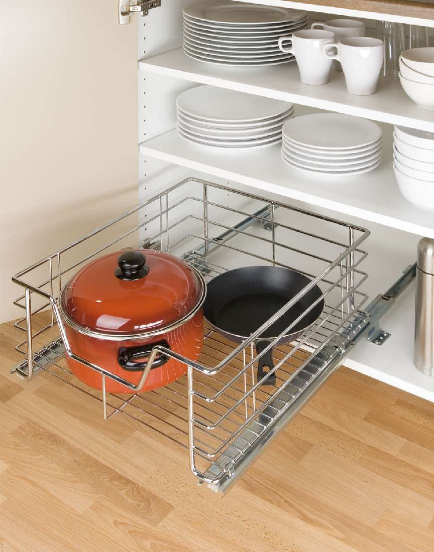 schrankauszug schranksystem metallauszug korb schublade. Black Bedroom Furniture Sets. Home Design Ideas