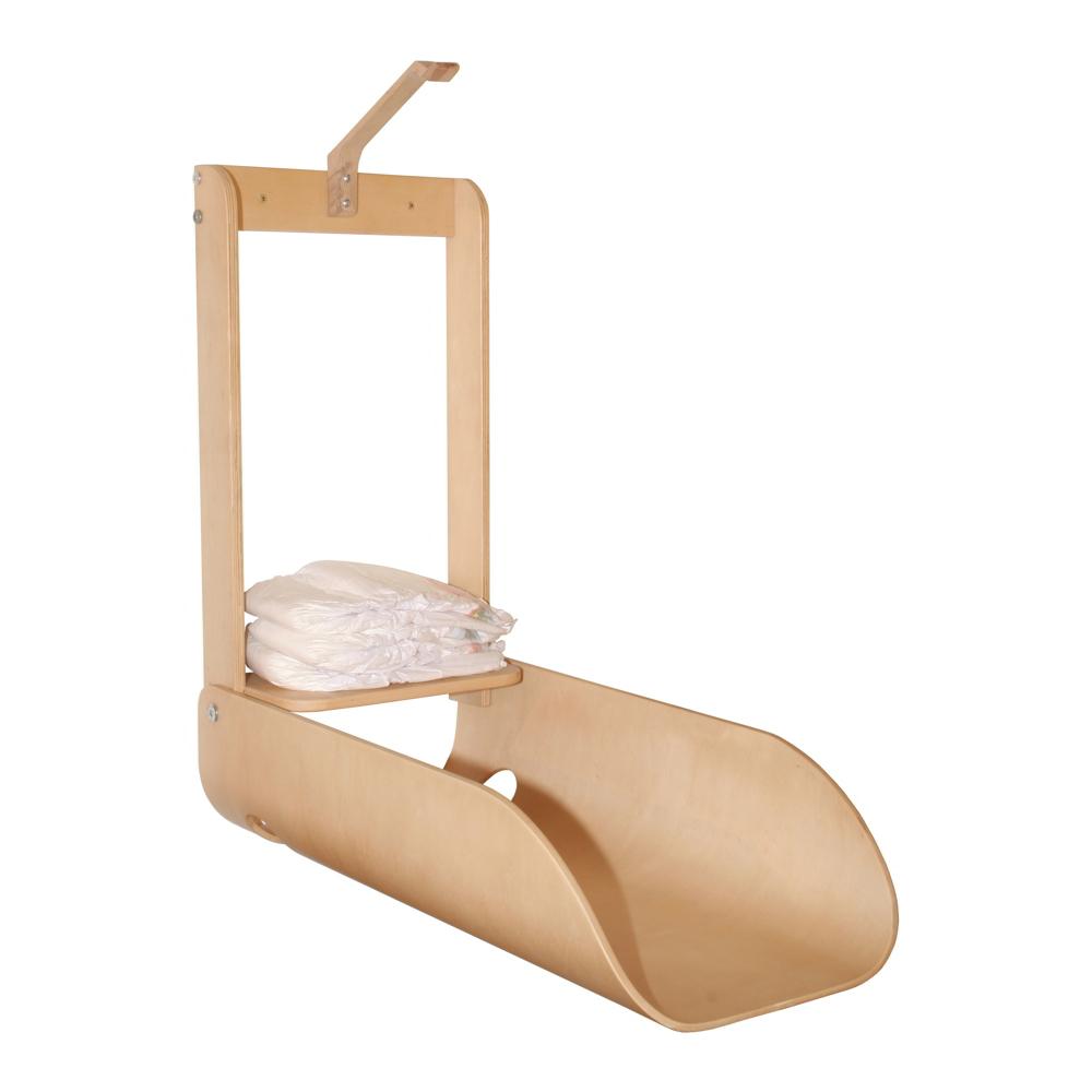windelspender zur wandmonatge holz natur windelbox aufbewahrung windeln neu ebay. Black Bedroom Furniture Sets. Home Design Ideas