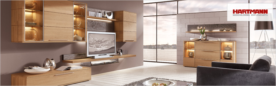 hartmann massivholzm bel versandkostenfrei online kaufen. Black Bedroom Furniture Sets. Home Design Ideas