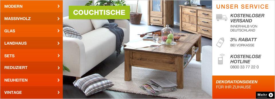 Couchtische Online-Shop bei Home24