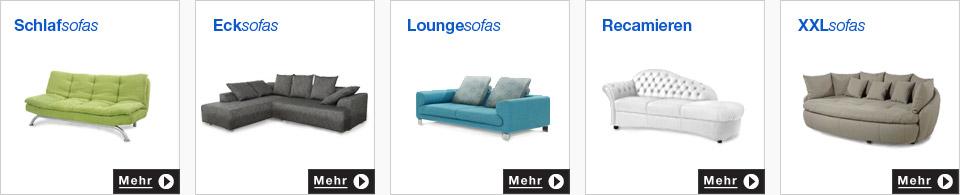 sofas und couches