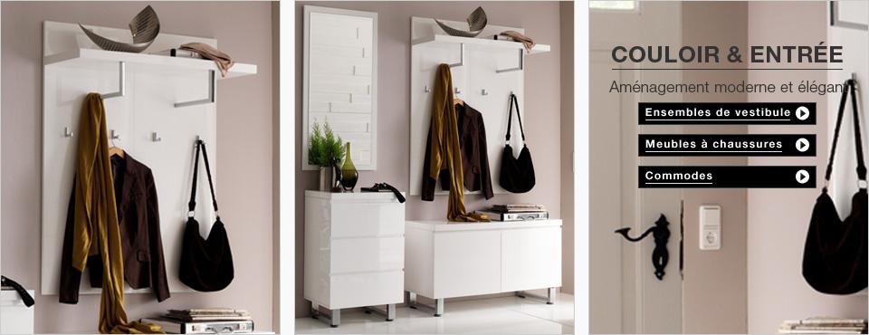 Entr e couloir meuble design pas cher - Deco entreehal ...