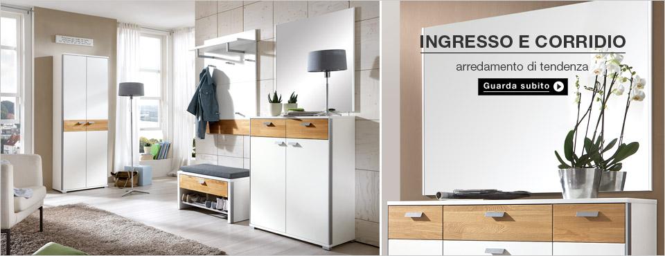 Mobili per corridoi design casa creativa e mobili ispiratori for Mobili x ingresso