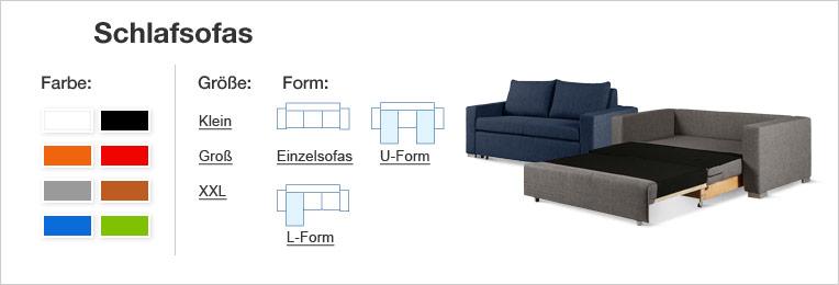 schlafsofas bequem und versandkostenfrei online kaufen home24. Black Bedroom Furniture Sets. Home Design Ideas