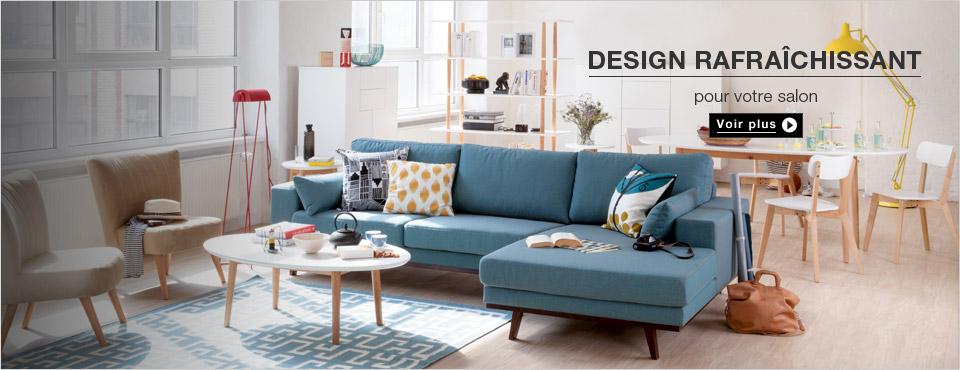 salon s jour meuble design pas cher. Black Bedroom Furniture Sets. Home Design Ideas