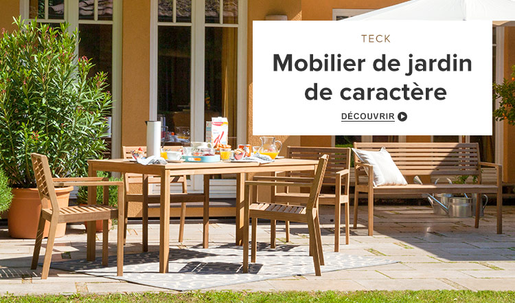 Salon de jardin haut santiago - Mobilier de jardin tresse ...