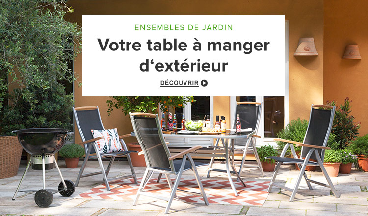 Salon de jardin en resine tressee chez carrefour for Salon de jardin carrefour home