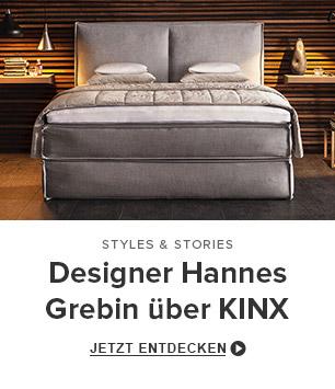Designer Hannes Grebin über KINX