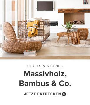 Massivholz, Bambus & Co.