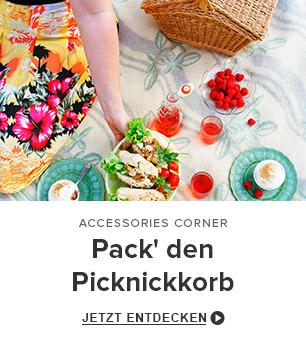 Pack' den Picknickkorb