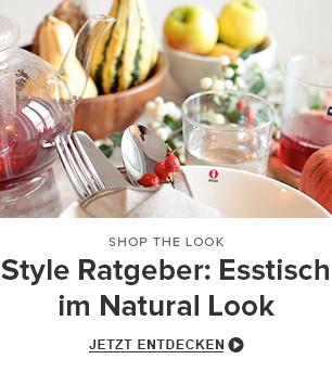 Style Ratgeber: Esstisch im Natural Look