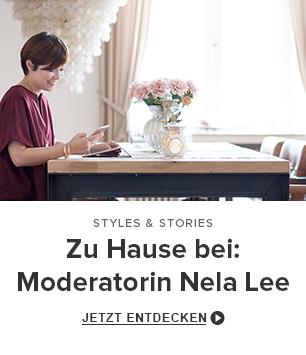 Zu Hause bei: Moderatorin Nela Lee