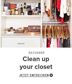 Clean up your closet