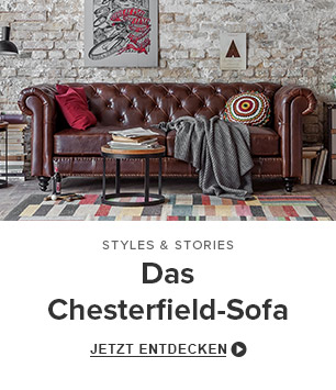Das Chesterfield Sofa