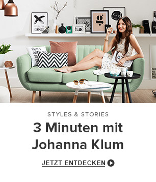 3 Minuten mit Johanna Klum