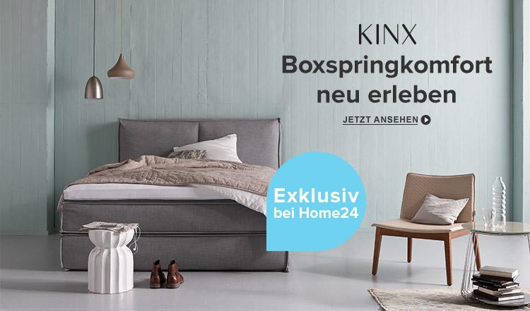 Premium Boxspringbett Kinx exklusiv bei home24 kaufen