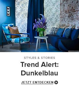 trend alert: dunkelblau