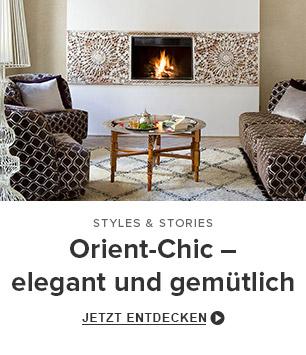 Orient-Chic – elegant und gemütlich