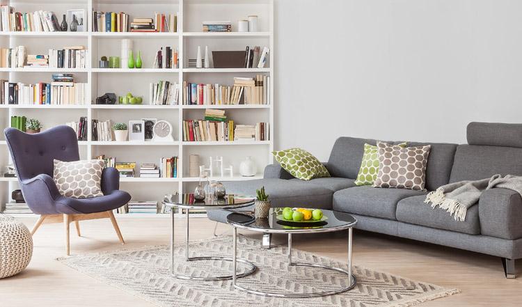 Style loft moderne pour le salon