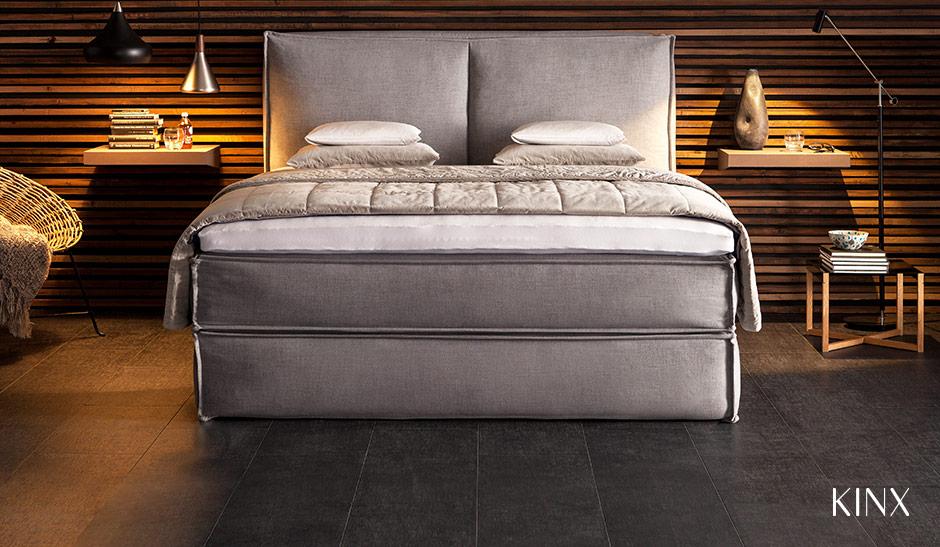 Boxspringbett KINX für luxuriösen Schlaf