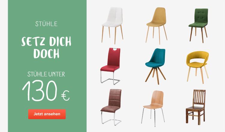 Stühle unter 130 Euro