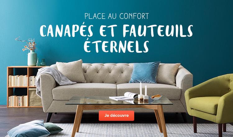 Canapés et fauteuils éternels - commander confortablement en ligne à prix avantageux