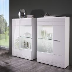 highboard hochglanz wei bestseller shop f r m bel und einrichtungen. Black Bedroom Furniture Sets. Home Design Ideas