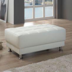 Polsterhocker & Sitzhocker | Sitzmöglichkeiten online kaufen | Home24 | {Hocker mit stauraum weiß 95}