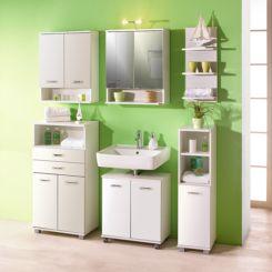badregale   regale fürs badezimmer online kaufen   home24 - Wandregal Badezimmer Holz