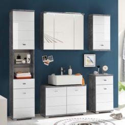 Badezimmermöbel grau  Badezimmermöbel | Tolle Inspirationen & Badezimmer Ideen | Home24