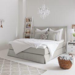 Boxspringbett weiß stoff  Boxspringbetten | Gemütliches Bett mit & ohne Bettkasten | home24